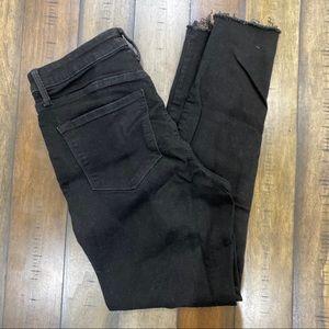 Old Navy High Rise Rockstar Black Jeans